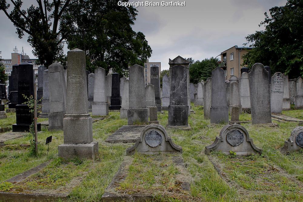 The Jewish cemetery in Zilina, Slovakia on Sunday July 3rd 2011. (Photo by Brian Garfinkel)