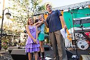Good Samaritan Hospital hosts its 50th Anniversary event at Santana Row in San Jose, California, on September 19, 2015. (Stan Olszewski/SOSKIphoto)