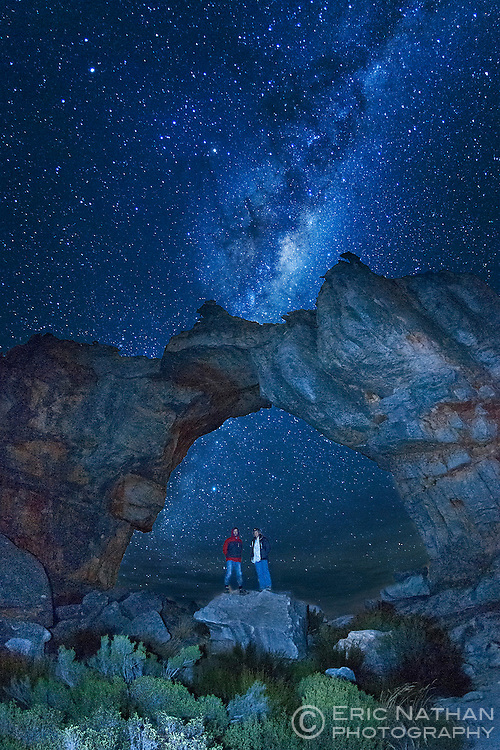Wolfberg Arch in the Cederberg Mountains of South Africa.