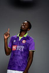 Tyreeq Bakinson of Bristol City during the 20/21 media day - Rogan/JMP - 31/08/2020 - Ashton Gate Stadium - Bristol, England.