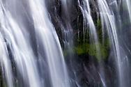 Narada Falls close up during late Summer in Mount Rainier National Park, Washington State, USA