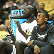 ORLANDO, FL - NOVEMBER 15: Tacko Fall #24 of the UCF Knights claps on the bench during a NCAA basketball game against the Gardner-Webb Runnin Bulldogs at the CFE Arena on November 15, 2017 in Orlando, Florida. (Photo by Alex Menendez/Getty Images) *** Local Caption *** Tacko Fall