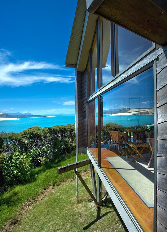 Wishart House in Hokianga, New Zealand, Designed by Rewi Thompson.