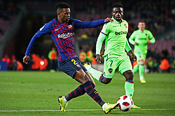 January 17, 2019 - Barcelona, Catalonia, Spain - Nelson Semedo during the match between FC Barcelona and Levante UD, corresponding to the 1/8 final of the spanish cup, played at the Camp Nou Stadium, on 17th January 2019, in Barcelona, Spain. (Credit Image: © Joan Valls/NurPhoto via ZUMA Press)