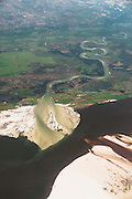 Ariel view of the Congo River.
