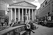 Londyn, 2009-10-23. Krůlewska Gie?da w londy?skim City