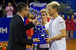 Dominic Thiem (AUT) after final match of singles at 26. Konzum Croatia Open Umag 2015, on July 26, 2015, in Umag, Croatia. Photo by Urban Urbanc / Sportida