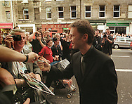 Actor Robert Carlyle arrives at the Odeon cinema for the opening night film of the Edinburgh International Film Festival, Lars von Trier's 'Dancer in the Dark' starring Bjork.....