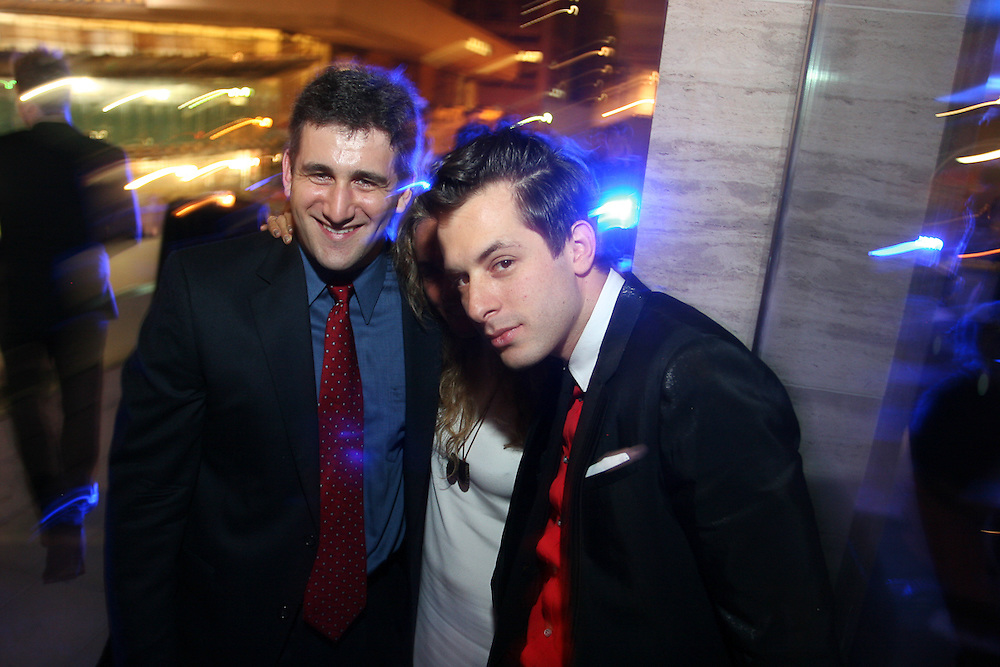 Ruprecht Studios Last night, Georgina Chapman, Mark Ronson, and so and so were all honored by the Young Patrons of Lincoln Center at Alice Tully Hall. Afterwards, guests and honorees alike headed to Hudson Hotel to celebrate, where Guest of a Guest talked to Mark Ronson. Our complete coverage below...One surefire way to amp up the star power at an event is to invite people with beyond fabulous plus ones, twos and threes. Such was the case last night at the Lincoln Center Masquerade Ball. Mark Ronson was honored for his work in the musical arts and proud mother Ann Dexter Jones was in front row attendance along with his twin sisters Samantha and Charlotte Ronson of designing and Lindsay Lohan dating fame. Half brother Alexander Dexter-Jones rounded out the impossibly chic family reunion. Having his relations there must have made Mark think of the past as he was happy to share memories of his time at Collegiate drinking on the Met steps - a move that Blair Waldorf would forbid on Gossip Girl.
