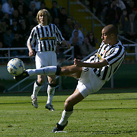 Parma 18/4/2004 Campionato Italiano Serie A <br />30a Giornata - Matchday 30 <br />Parma Juventus 2-2 <br />David Trezeguet (Juventus) <br /> Foto Graffiti
