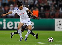 Zuerichs Milan Gajic gegen Reals Lassana Diarra © Maria Schmid/EQ Images