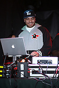 DJ Cipher at The Vibe Magazine VIP Celebration for Vibe's December cover featuring the first New York show of Plies, held at The Knitting Factory on November 24, 2008 in NYC