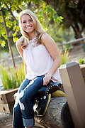 Senior Photos In San Juan Capistrano California