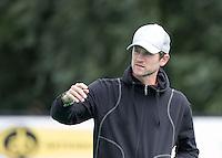 ROTTERDAM -HOCKEY - ABN AMRO CUP , als voorbereiding op de competitie. Oranje-Rood coach Lucas Judge.    COPYRIGHT KOEN SUYK