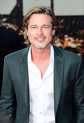 Brad Pitt arrives to Once Upon A Time In Hollywood Los Angeles Premiere, held at the TLC Chinese Theater in Hollywood, California, Monday, July 22, 2019.