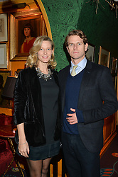 NICK & OLIVIA WILKINSON at a Thanksgiving dinner hosted by Alexander Gilkes of Paddle8 at Annabel's, 44 Berkeley Square, London on 23rd November 2016.