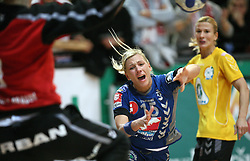 Dijana Golubic of Krim at handball match of 1/4 finals of Women handball Cup Winners cup between RK Krim Mercator, Ljubljana and C.S. Rulmentul-Urban Brasov, Romania, in Arena Kodeljevo, Ljubljana, Slovenia, on 8th of March 2008. Rulmentul-Urban won match against RK Krim Mercator with 29:27.