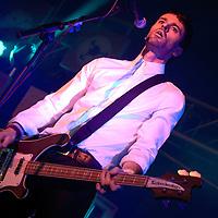 Baddies performing live at the Summer Sundae Weekender 2009, De Montfort Hall, Leicester, Leicestershire, UK, 2009-08-16