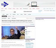 Robin Gibb / STV / 21st November 2011.