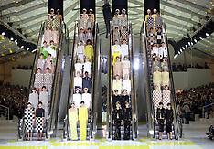 OCT 03 2012 Louis Vuitton show in Paris for S/S 2013
