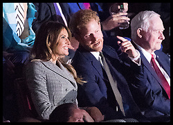 September 24, 2017 - Toronto, Canada - Image licensed to i-Images Picture Agency. 23/09/2017. Toronto, Canada. Meghan Markle  at the opening ceremony of  the Invictus Games in Toronto, Canada. Picture by Stephen Lock / i-Images (Credit Image: © Stephen Lock/i-Images via ZUMA Press)
