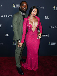 BEVERLY HILLS, LOS ANGELES, CALIFORNIA, USA - JANUARY 25: The Recording Academy And Clive Davis' 2020 Pre-GRAMMY Gala held at The Beverly Hilton Hotel on January 25, 2020 in Beverly Hills, Los Angeles, California, United States. 25 Jan 2020 Pictured: Offset, Cardi B. Photo credit: Xavier Collin/Image Press Agency/MEGA TheMegaAgency.com +1 888 505 6342