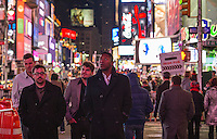 Visit to New York City ~ stroll through Times Square.  Karen Bobotas Photographer