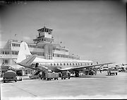 13/06/1958.06/13/1958.13 June 1958.B.E.A. Viscount at Dublin Airport.