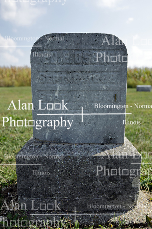 23 September 2017: Ted E. Osborn.  West Union Cemetery is located on the north side of Illinois Rt 9 between Danvers and Mackinaw.  It is located within McLean County