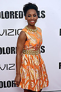 25 October 2010- New York, NY- Anika Noni Rose at Tyler Perry's World Premiere of the Film 'For Colored Girls ' an Adaptation of Ntozake Shange's play ' For Colored Girls Who Have Considered Suicide When the Rainbow Is Enuf.' held at the Zeigfeld Theater on October 25, 2010 in New York City.
