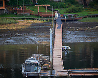Rocky Point Resort along the Wrangell Narrows. Image taken with a Nikon D300 camera and 70-300 mm VR lens.