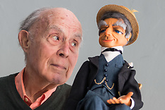 2018-02-14 SWNS Thunderbirds puppet Parker and original voice actor.