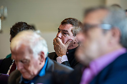Pictured: Former UK Trade Minister Nigel Griffiths<br /><br />Gordon Brown addressed the new Scottish think tank seminar today.  He was joined by Shadow Scottish secretary Lesley Laird and Scottish Labour leader Richard Leonard who also spoke at the inaugural meeting of Our Scottish Future<br /><br />Ger Harley | EEm 30 August 2019