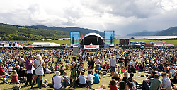 The main stage on Sunday, Rockness 2009..©2009 Michael Schofield. All Rights Reserved..