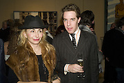 VALENTINA JOULEBINA AND MATTHEW STEEPLES, Adam Dant: The Art of Hedge. Robilant and Voena Gallery. Dover st. London. 12 November 2007. -DO NOT ARCHIVE-© Copyright Photograph by Dafydd Jones. 248 Clapham Rd. London SW9 0PZ. Tel 0207 820 0771. www.dafjones.com.