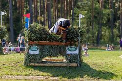 BAUER Hans (NOR), Praestegaardens Leopold<br /> Luhmühlen - LONGINES FEI Eventing European Championships 2019<br /> Geländeritt CCI 4*<br /> Cross country CH-EU-CCI4*-L<br /> 31. August 2019<br /> © www.sportfotos-lafrentz.de/Stefan Lafrentz