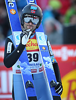 Kombinert<br /> FIS World Cup<br /> Foto: Gepa/Digitalsport<br /> NORWAY ONLY<br /> <br /> RAMSAU,AUSTRIA,19.DEC.15 - NORDIC SKIING, NORDIC COMBINED, SKI JUMPING - FIS World Cup, normal hill, men. Image shows Magnus Moan (NOR).