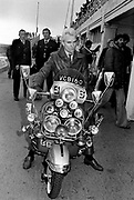 Sting during the filming of Quadrophenia Brighton 1979