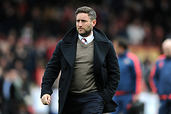 Bristol City head coach Lee Johnson - Mandatory by-line: Dougie Allward/JMP - 16/04/2016 - FOOTBALL - Griffin Park - Brentford, England - Brentford v Bristol City - Sky Bet Championship