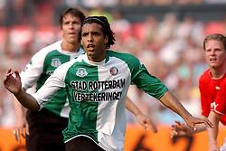 01-06-2003 NED: Amstelcup finale FC Utrecht - Feyenoord, Rotterdam<br /> FC Utrecht pakt de beker door Feyenoord met 4-1 te verslaan / Pierre van Hooijdonk