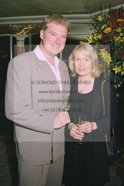 MR & MRS SEAN BLOWERS, he is the actor at a luncheon in London on 15th October 1997.MCC 23