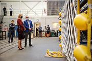 SCHEVENINGEN, 18-11-2020, Boeg B.V.<br /> <br /> Werkbezoek van Koningin Maxima, lid van het Nederlands Comité voor Ondernemerschap en de voorzitter van MKB-Nederland, Jacco Vonhof, aan Boeg B.V. & Boeg Nautic in Den Haag (Scheveningen) in het kader van de Dag van de Ondernemer, woensdag 18 november 2020<br /> <br /> Working visit by Queen Maxima, member of the Netherlands Entrepreneurship Committee and the chairman of MKB-Nederland, Jacco Vonhof, to Boeg B.V. & Boeg Nautic in The Hague (Scheveningen) as part of the Day of the Entrepreneur, Wednesday 18 November 2020