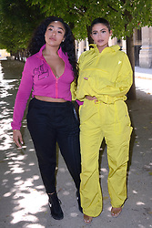 Kylie Jenner and guest attending the Louis Vuitton Menswear Spring Summer 2019 show as part of Paris Fashion Week in Paris, France on June 21, 2018. Photo by Aurore Marechal/ABACAPRESS.COM