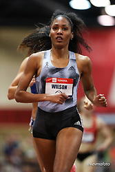 2020 USATF Indoor Championship<br /> Albuquerque, NM 2020-02-14<br /> photo credit: © 2020 Kevin Morris<br /> womens 800m, adidas