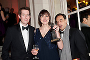 JAMIE HENDRY; PAM SKINNER; HAL LUFTIG, Post Olivier Awards Gala party. Waldorf Astoria. London. 13 March 2011. -DO NOT ARCHIVE-© Copyright Photograph by Dafydd Jones. 248 Clapham Rd. London SW9 0PZ. Tel 0207 820 0771. www.dafjones.com.