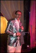 MATHEW FLOWERS, Andrew Logan's Alternative Miss World 2014. Shakespeare's Globe, London. 18 October 2014.