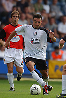 Steed Malbranque (Fulham) Fulham v Real Mallorca, Pre-Season Friendly, 10/08/2003. Credit: Colorsport / Matthew Impey DIGITAL FILE ONLY