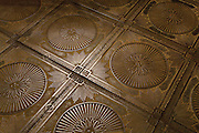 Cast iron floor in Saint Basil's Cathedral. Moscow, Russia, 2007