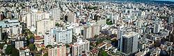 Foto aérea panorâmica da Av. Independência, 1053. FOTO: Jefferson Bernardes/ Agência Preview