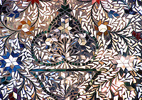 Pakistan, Sehwan Sharif, 2004. Pathan shrines in Sehwan are lavishly mirrored in the belief that no single shard should capture capture the truth.